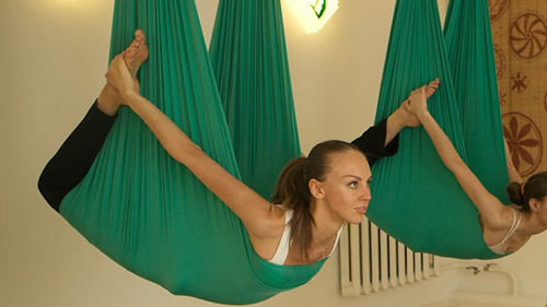 Jade Green Hammock For Aerial Yoga/Antigravity Yoga