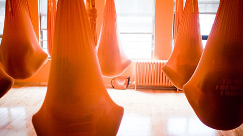 Warm Orange Home Hammock