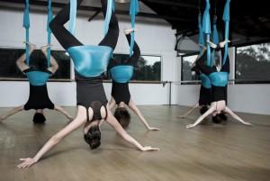 aerial yoga beginners